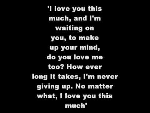 I Love You This Much by Jimmy Wayne w/lyrics