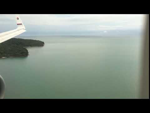 Malaysia Airlines B737-800 Landing Langkawi
