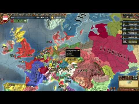 Getting A PU Over Hungary As Austria! EU4
