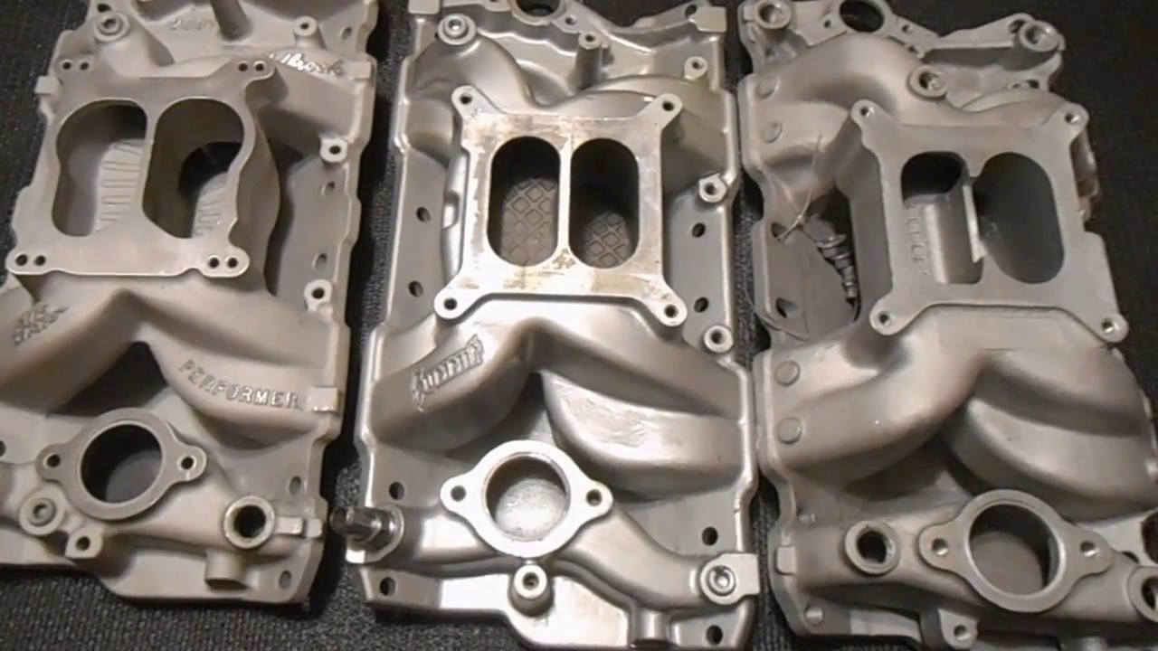 small block chevy air gap intakes, edelbrock vs summit vs professional  products