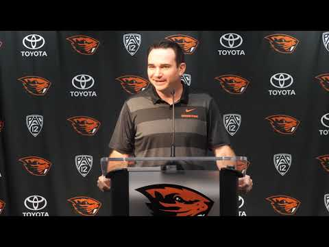 Oregon State Beavers - Jonathan Smith on Huskies and his return to Seattle!