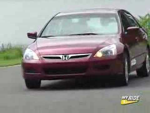 review 2006 honda accord youtube. Black Bedroom Furniture Sets. Home Design Ideas