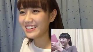 【同時配信】NGT48 荻野由佳&西潟茉莉奈イチャラブしすぎwww【息ぴったり】