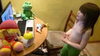 2. Учим английский язык вместе с Хрюшей самостоятельно, Диана 6 лет, 2013г,