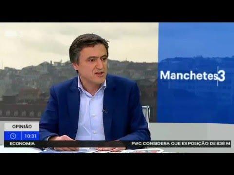 RTP3 Entrevista a Vítor Paulo Pereira Presidente da Câmara de Paredes de Coura