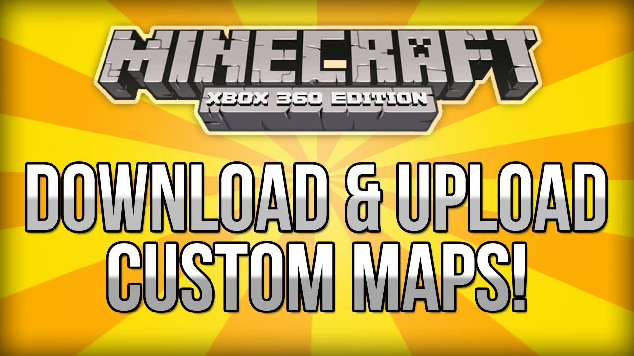 Minecraft (Xbox 360) - How To Download & Upload Custom Maps ...