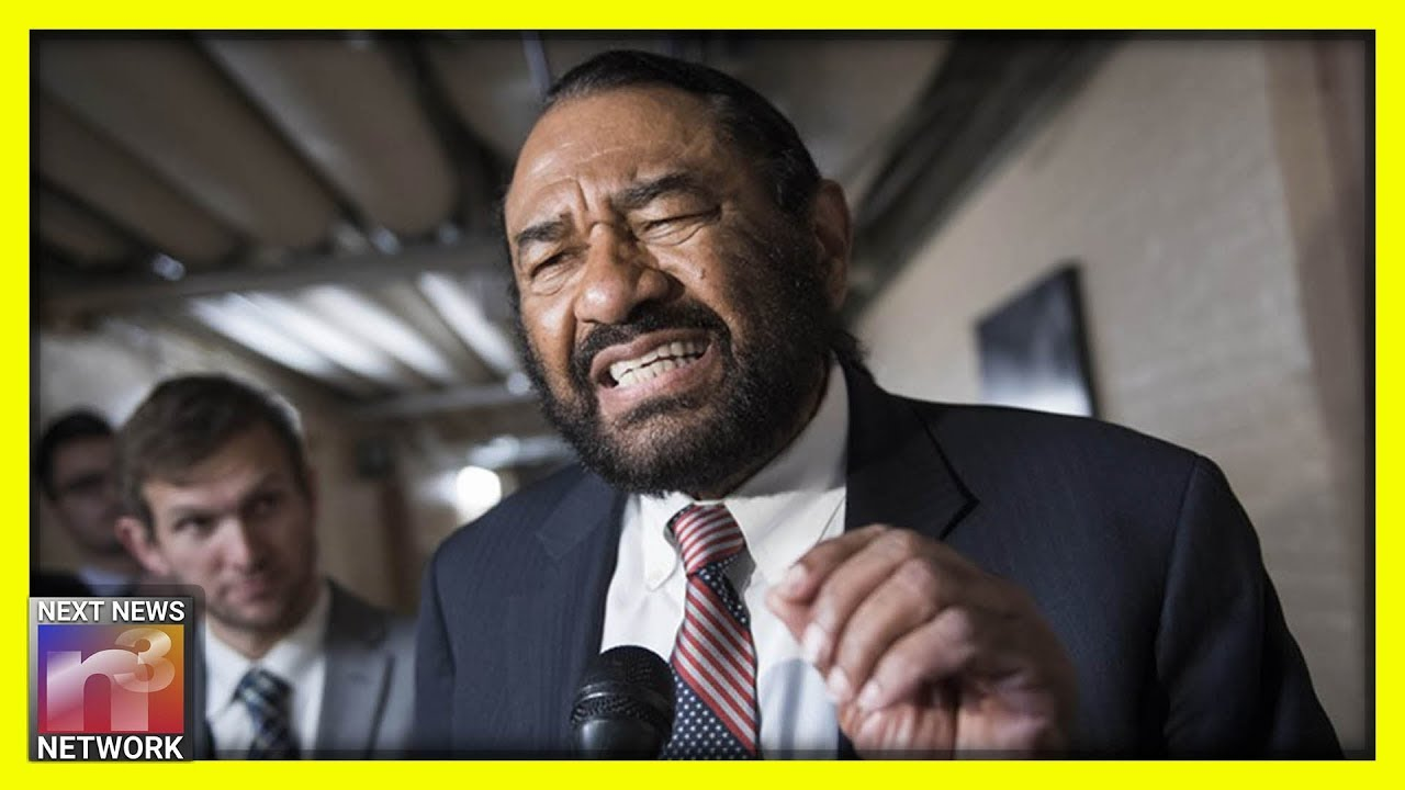 Al Green Confronted in Airport by Reporter - How Fast He Pulls Out the Race Card is SICKENING!