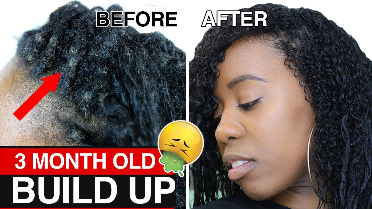 How To Safely Remove Dirt Build Up Fast From Braids Twists And