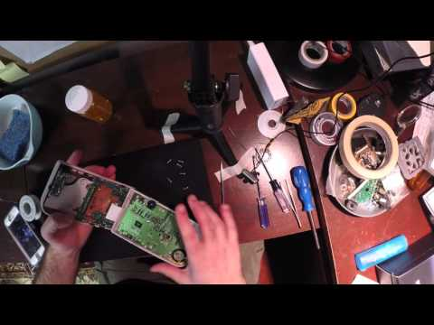 How to clean and restore Original Gameboy Buttons and Conductive Pads