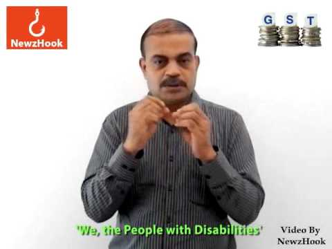 Disability groups demand rollback of GST on assistive aids-Indian Sign Language News by NewzHook.com