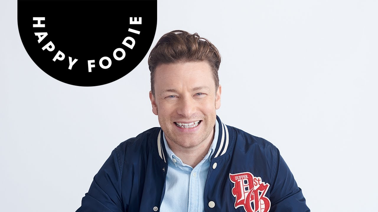Jamie oliver talks health happiness and everyday super food the jamie oliver talks health happiness and everyday super food the happy foodie youtube forumfinder Gallery