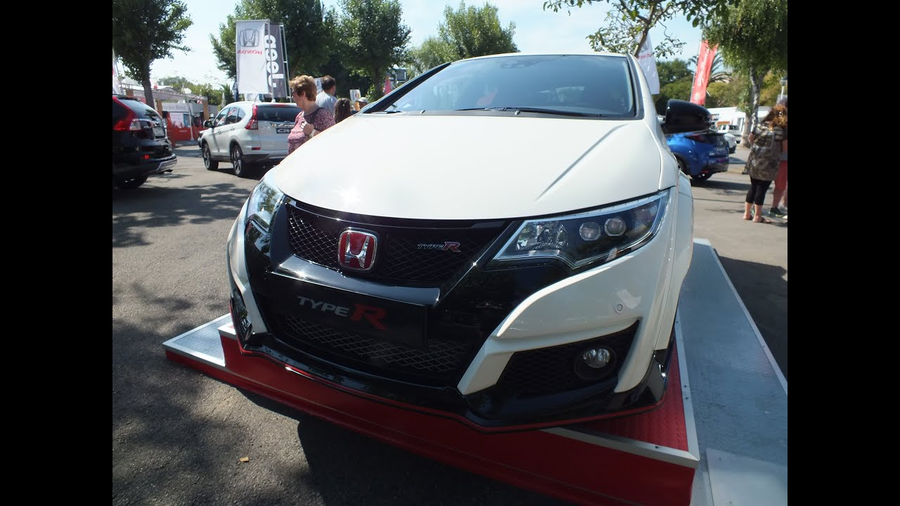 honda civic type r review youtube. Black Bedroom Furniture Sets. Home Design Ideas