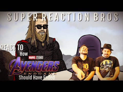 SRB Reacts to Avengers: Endgame Alternate HISHE