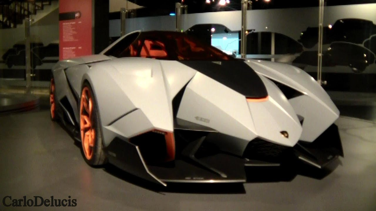 Lamborghini Egoista Walkaround And Details Youtube