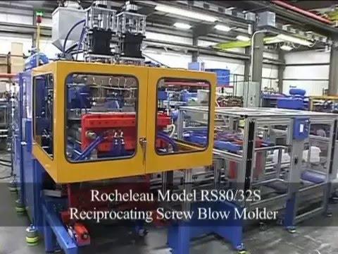 Rocheleau RS-80 Blow Molding Machine 2 Head