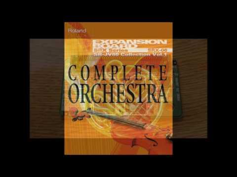 """DEMO Roland SRX-06 """"Complete Orchestra"""""""
