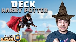 DECK DO HARRY POTTER NO CLASH ROYALE - Deck da Galera #16