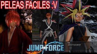 El Guerrero Eterno, El Segador Suplente y El Corazón de las Trampas | Jump Force #8