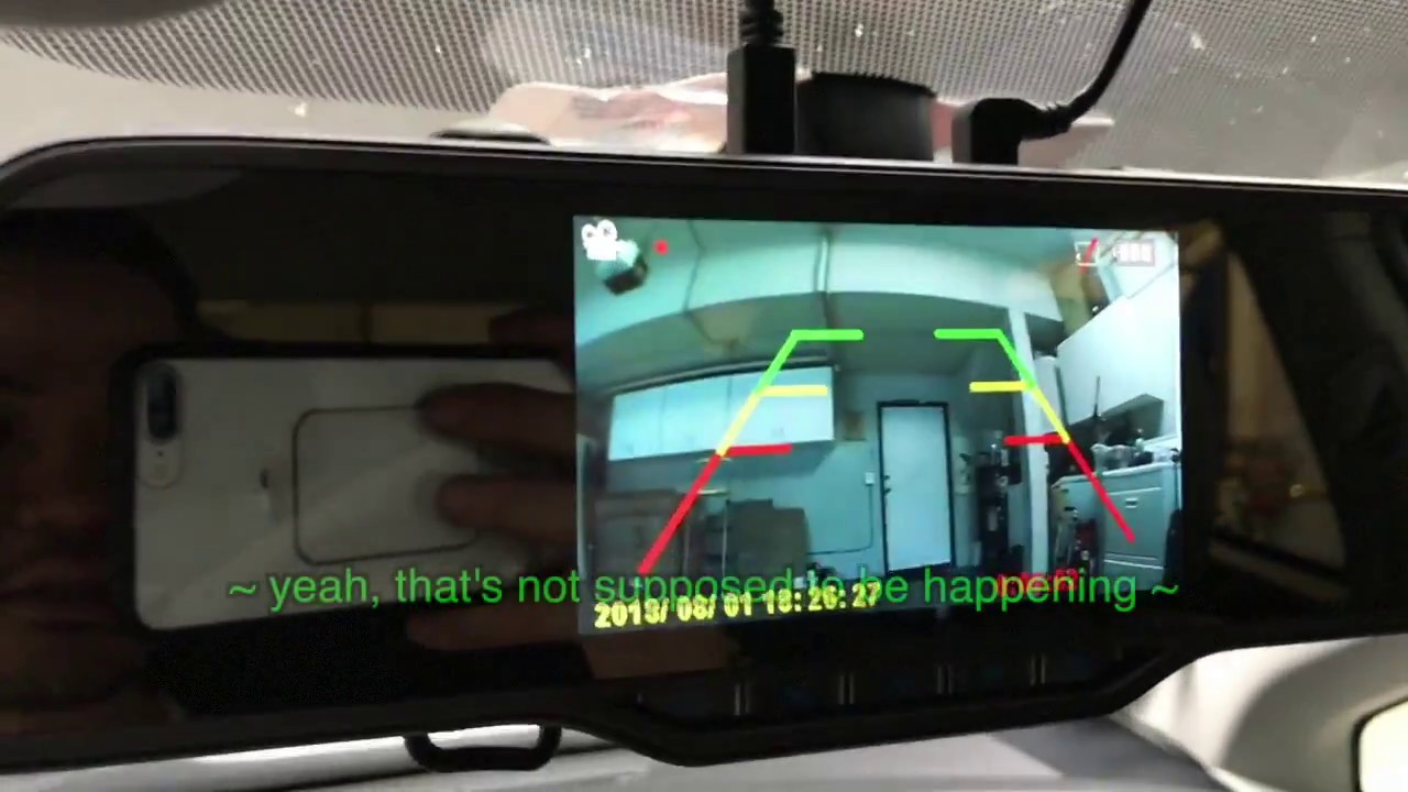 hight resolution of toyota prius 2010 rear backup camera installation partial