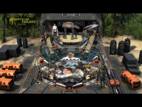 First Look Star Wars Rogue One Table : Zen Pinball PS4