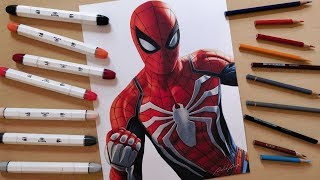 Speed Drawing: Spider-Man (PS4)