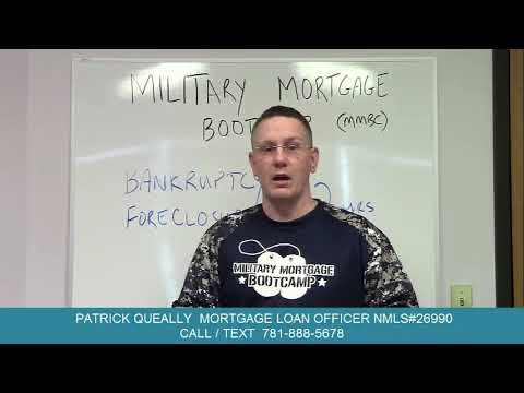 Military Mortgage Mythbusting & Prior negative credit events