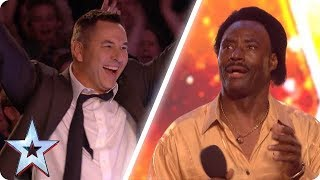CATCHY SONG WINS DAVID WALLIAMS' GOLDEN BUZZER | Britain's Got Talent