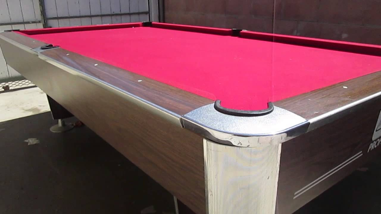 POOL TABLE FOR SALE MURREY PROFESSIONAL SERIES YouTube - Murrey billiard table