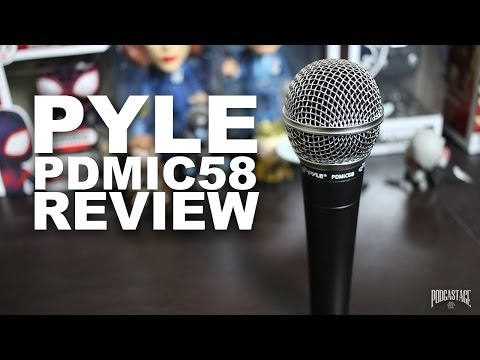 Pyle PDMIC58 Dynamic Microphone Review / Test