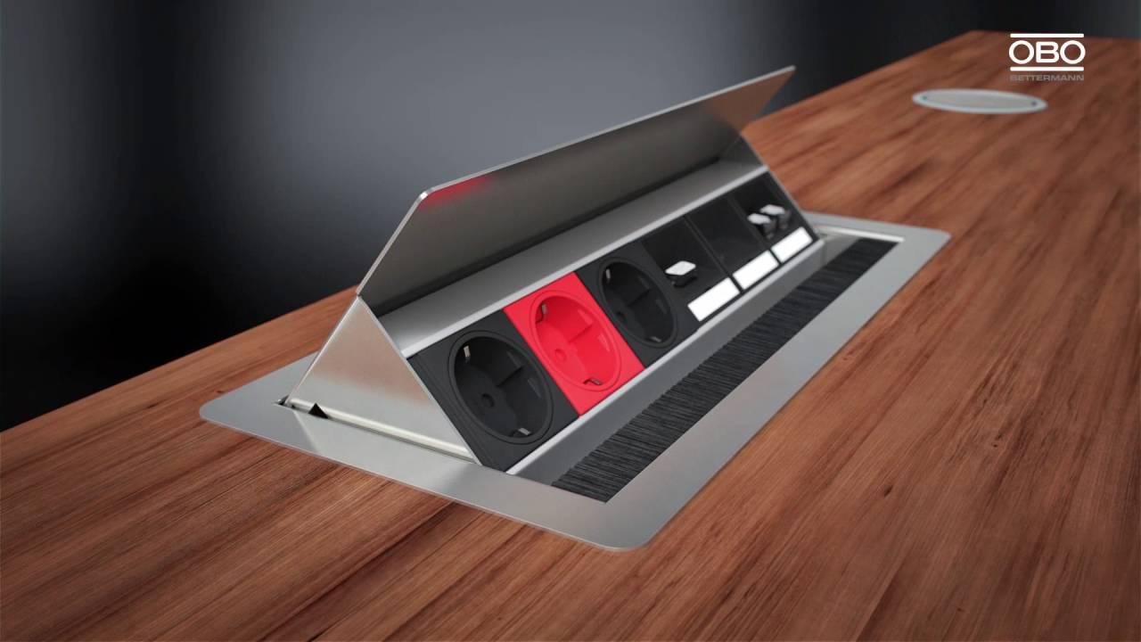 OBO Bettermann Deskbox (ПО Контактор) - YouTube