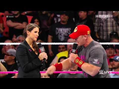 Raw 10/27/14 | Stephanie McMahon, Triple H, & John Cena Segment thumbnail