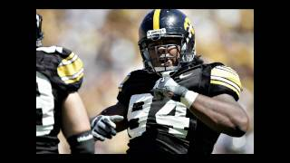 Michigan Quarterback Tate Forcier Concussion from Iowa Hawkeye Adrian Clayborn Football 2009