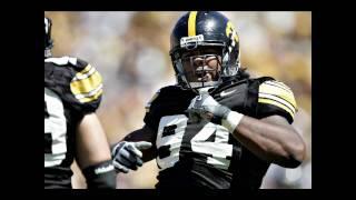 Michigan Quarterback Tate Forcier Concussion from Iowa Hawkeye Adrian Clayborn Football 2009