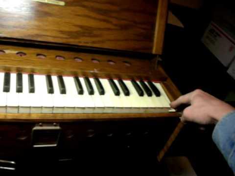 Bilhorn Bros. World Famous Folding Organ - Vintage Pump Organ