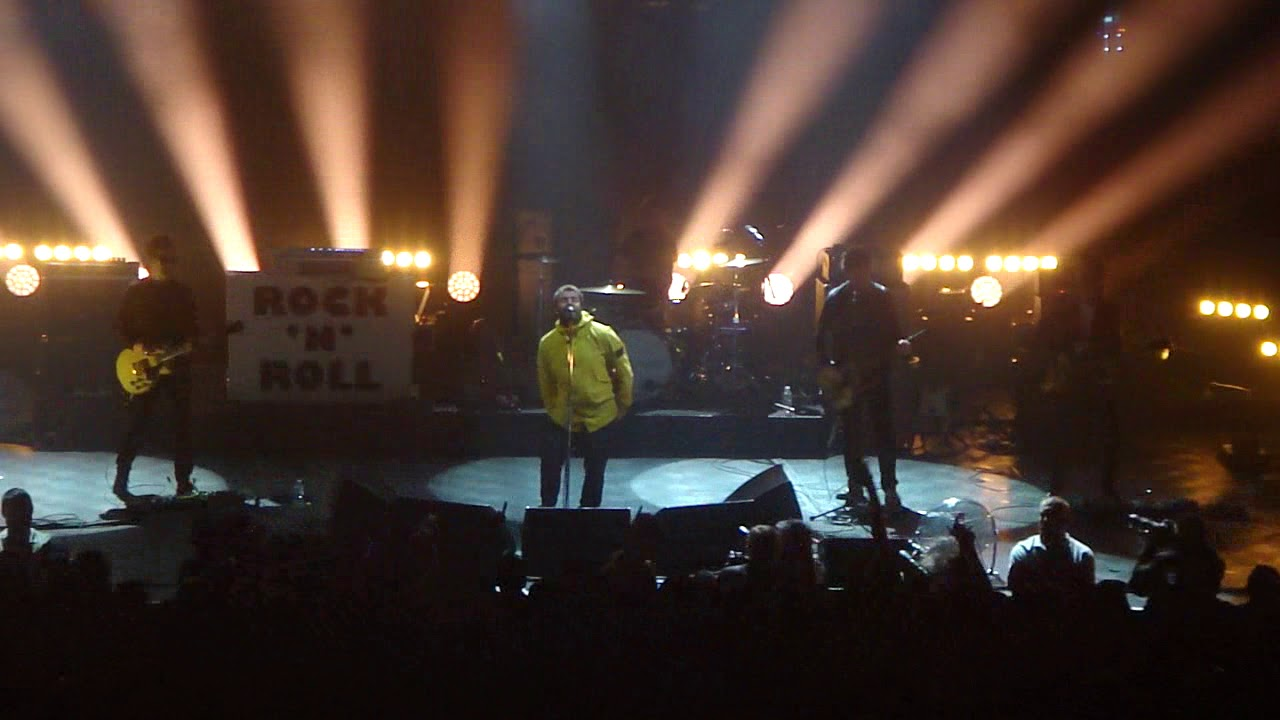 noel gallagher ancienne belgique 2018 Liam Gallagher   Rock'n'Roll Star (live @ AB)   YouTube noel gallagher ancienne belgique 2018