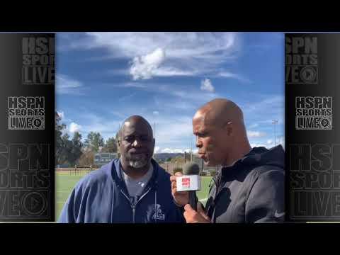 COACH DECHON BURN INTERVIEW - LIVE HIGH SCHOOL FOOTBALL BROADCAST & LIVE STREAM