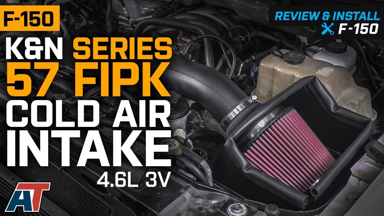 "4/"" BLACK Heat Shield Cold Air Intake Induction Kit+Filter For 09-10 F150 5.4L V8"