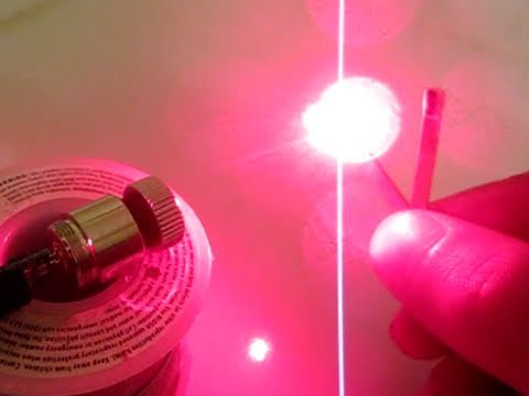 DIY: How to Build a Burning Red Laser
