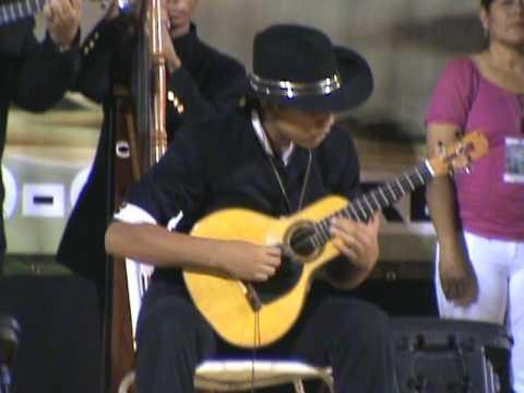 """Dennis Lobo """" El Lobito de la Bandola"""" Ganador del  2do lugar silbón de oro 2009"""