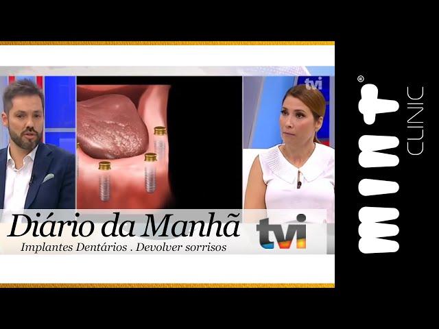 Implantes Dentários na Terceira Idade - Diário da Manhã TVI