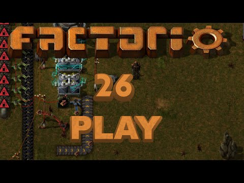 Factorio Play 26 - Turning off Steam Engines