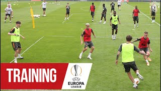 Training | Ole's Reds Putting In The Hard Yards Ahead Of Sevilla Semi Final | Manchester United