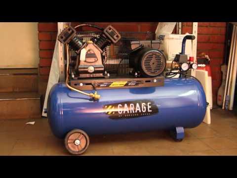 Устройство компрессора Garage 100 MBV 400 2.2 Производительность компрессора