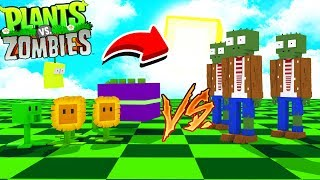 Minecraft: *NOVO* MOD do PLANTA VS ZOMBIES *muito divertido* ‹‹ JHONy3 ››