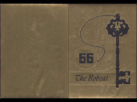 1966 Sunray High School yearbook: The Bobcat