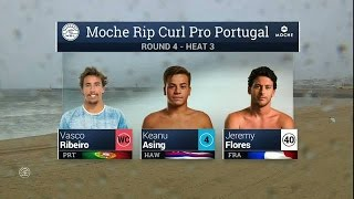 Moche Rip Curl Pro Portugal: R4, H3 Recap