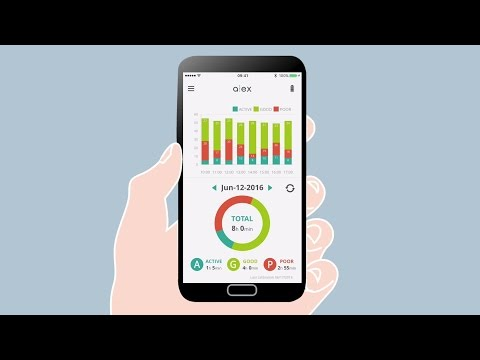 Beat text neck : ALEX Wearable Posture Tracker and Coach | [alexn5