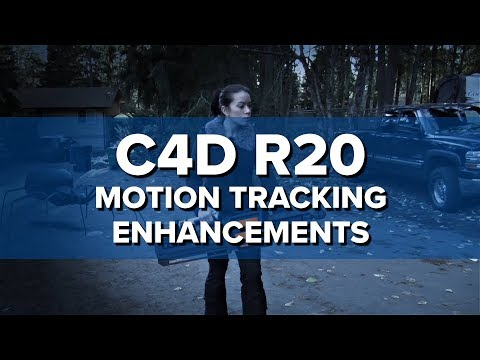Motion Tracker Workflow Enhancements [New in C4D R20]