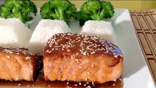 Teriyaki Salmon Recipe-how To Make Grilled Teriyaki Salmon-asian Food