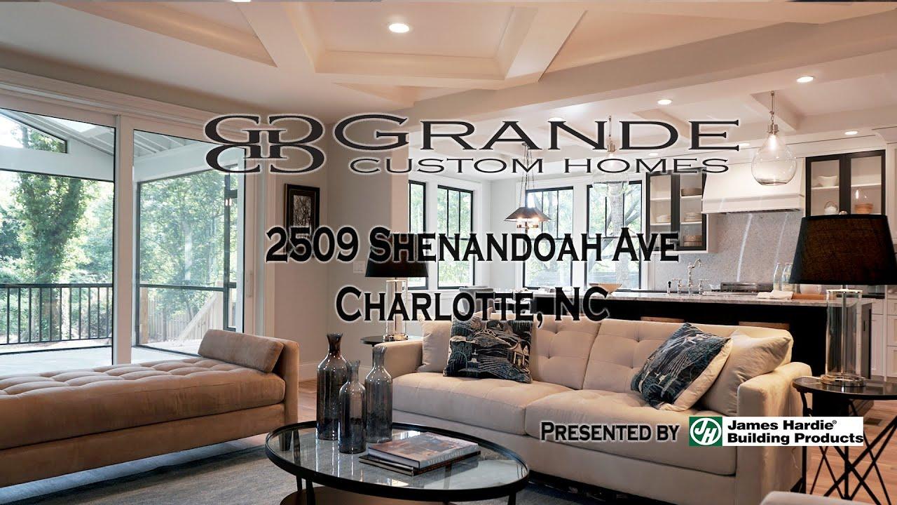 Grande Custom Homes - Charlotte, NC - Shenandoah - YouTube